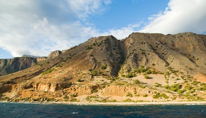 Lefka Ori Berge auf Kreta