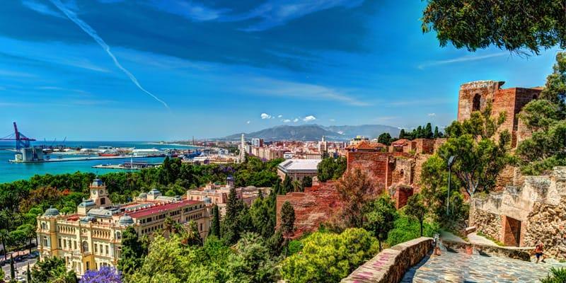 Malaga im Juli