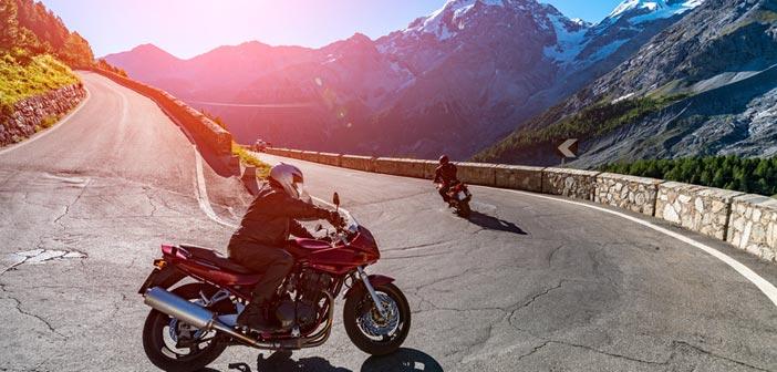 Mit dem Motorrad durch Italien