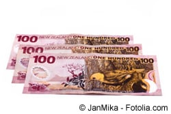 Neuseeländische Dollar - Währung in Neuseeland