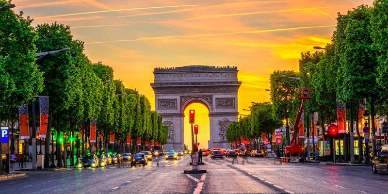 Paris im Juli