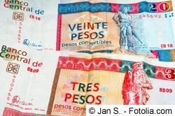 Peso Convertible - Währung in Kuba