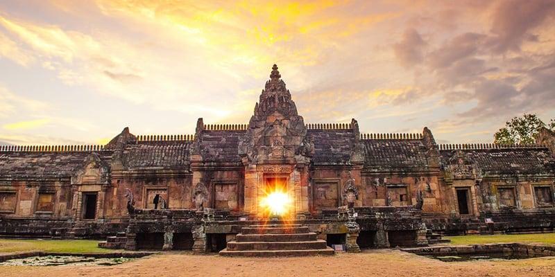 Die Phanom Rung Tempelanlage