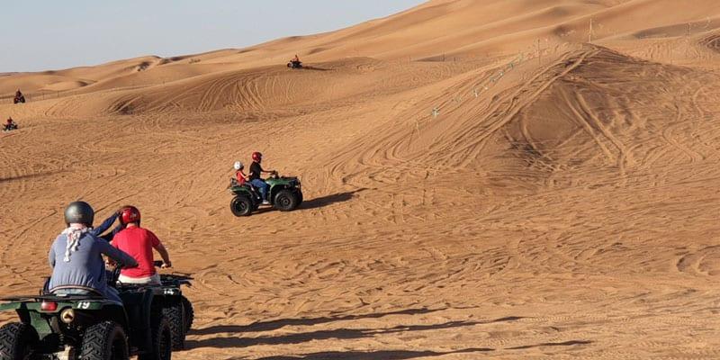 Quadtour in Dubai