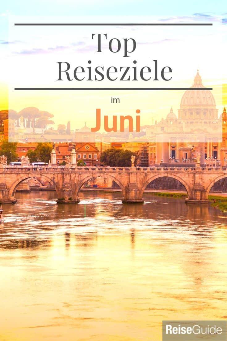Reiseziele Juni 2020