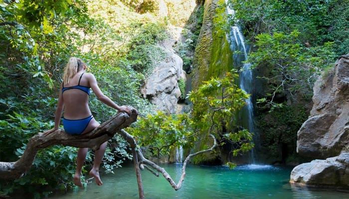Richtis Gorge Wasserfall