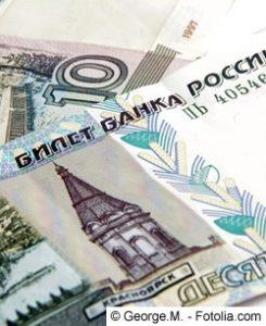 Rubel - Währung in Russland