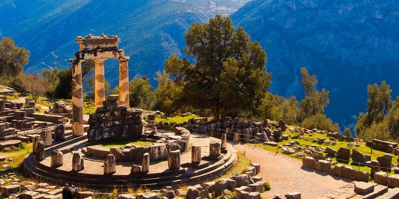 Ruinen von Delphi
