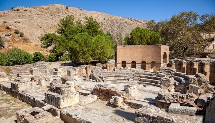 Ruinen von Gortyn