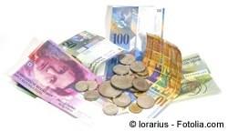 Schweizer Franken in der Schweiz