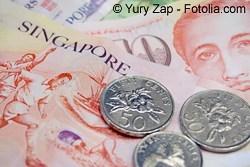 Singapur Dollar - Währung in Singapur