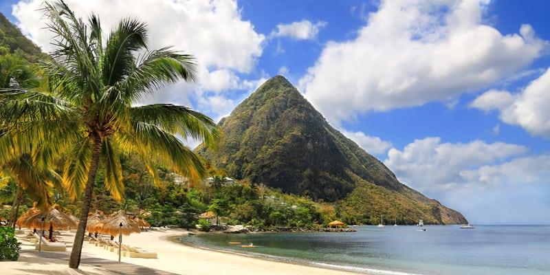 St. Lucia im März