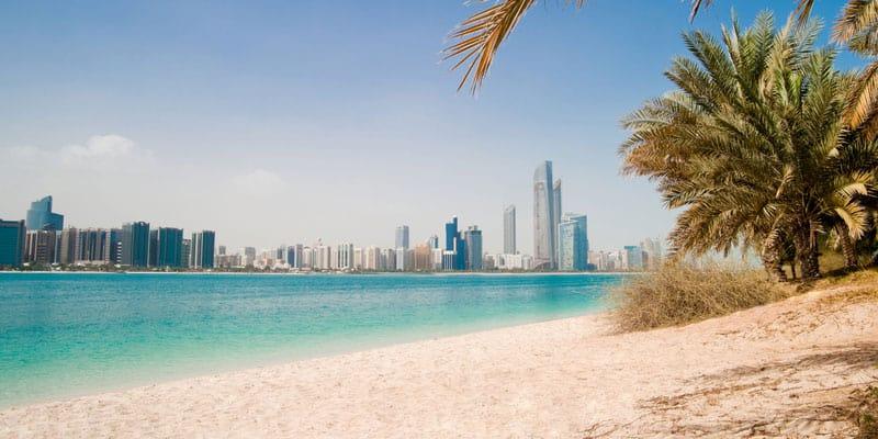 Strandbesuch in Dubai