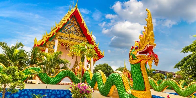 Wat – Tempel auf Phuket