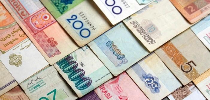 Geld in Landeswährung mit Reiseschecks