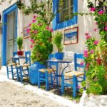 Typisches Haus auf Kreta