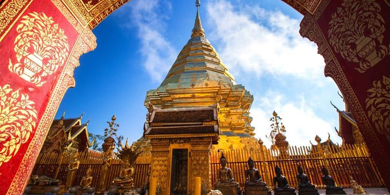 Wat Phra Doi That Suthep in Chiang Mai