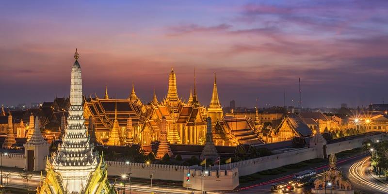 Grand Palace mit dem Wat Phra Kaeo