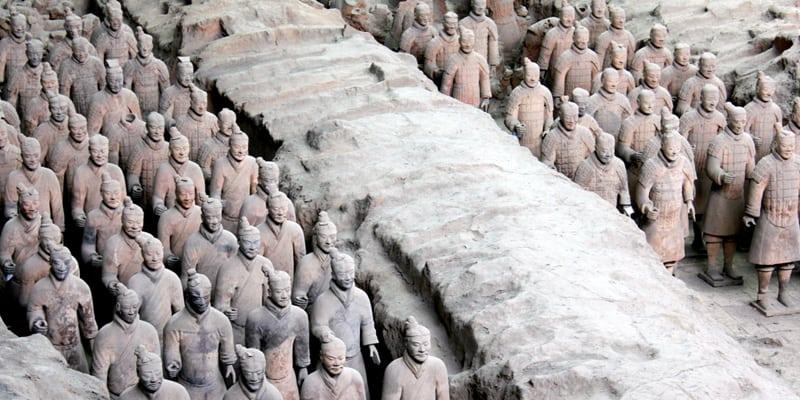 Xian und die Terrakotta Armee