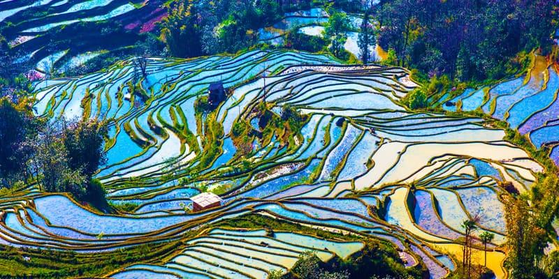 Provinzen von Yunnan und Guangxi